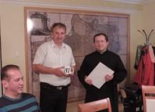 Rozlúčkove posedenie s pánom farárom Mgr.Hucíkom 2015