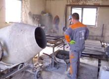 Výroba betónovej dlažby