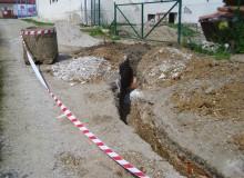 Rekonštrukcia kanalizačnej prípojky kultúrneho domu
