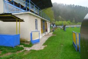 Realizácia chodníka na futbalovom ihrisku