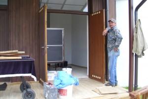 Rekonštrukcia úložnej miestnosti v kostole