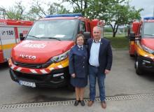 Prevzatie hasičského auta