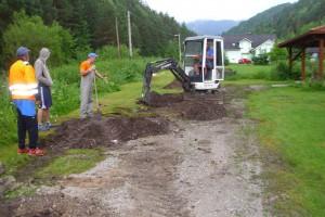 Realizácia kanalizácie ul.Osloboditeľov
