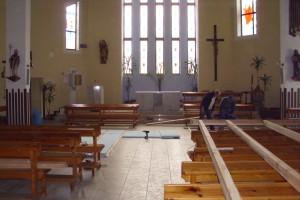 Realizácia vykurovania kostola